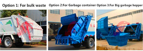 CEEC Garbage compactor truck loading introduction