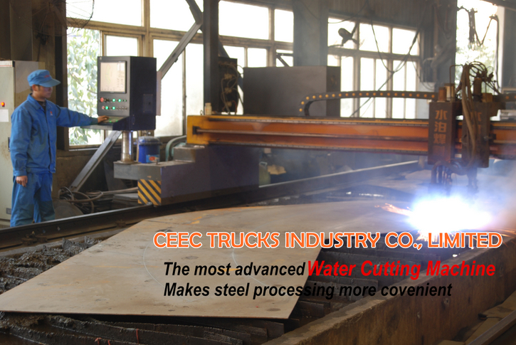 CEEC water tank truck workshop & equipment