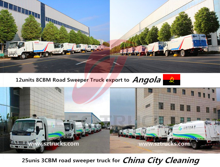 CEEC road sweeper export review