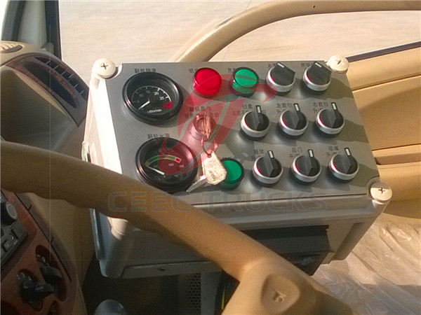 CEEC road sweeper control box