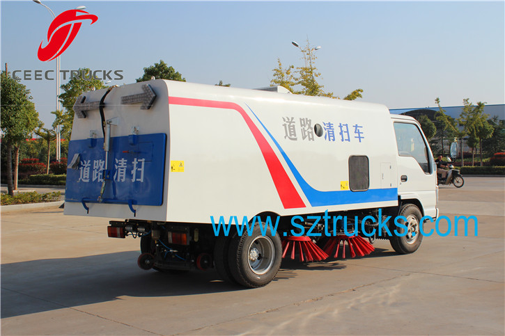 5CBM Road Sweeper Truck