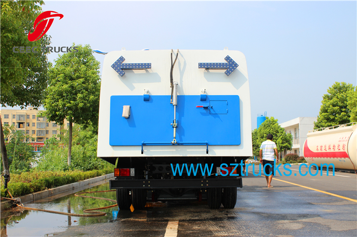 7-8CBM road sweeper truck