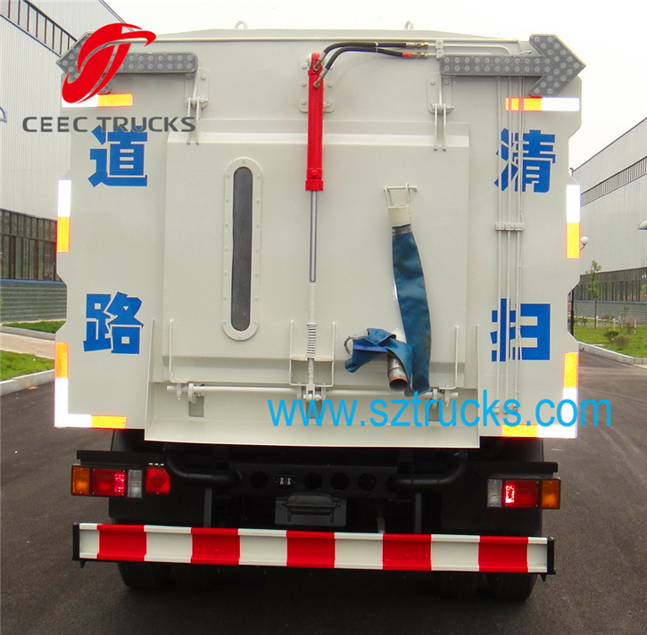 8-10CBM road sweeper truck