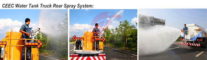 Water Tanker truck Spray system