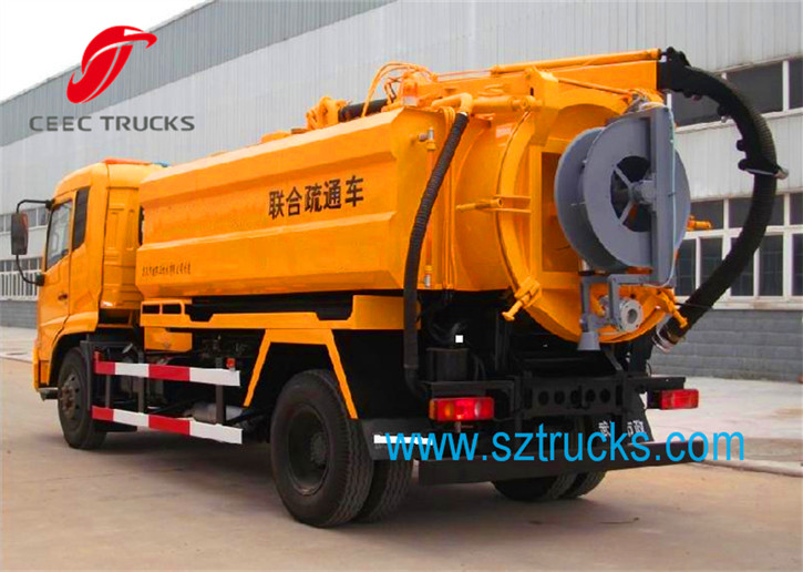 multi-functional combined jetting truck