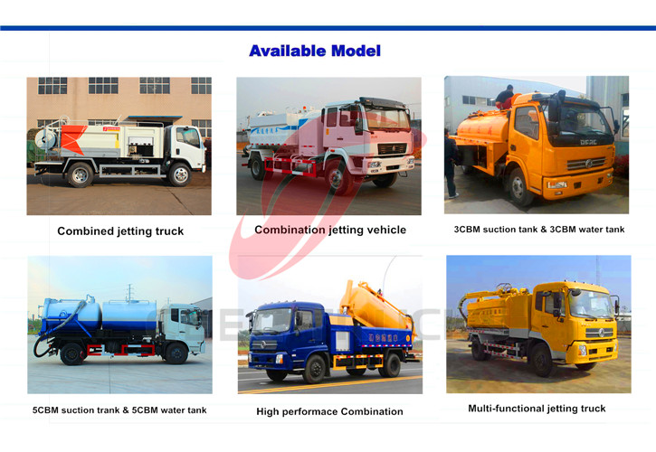 CEEC Combined sution jetting truck
