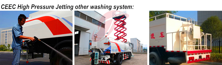 CEEC high pressure jetting other washing system