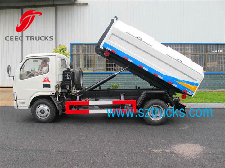 3-5CBM Roll on Roll off truck