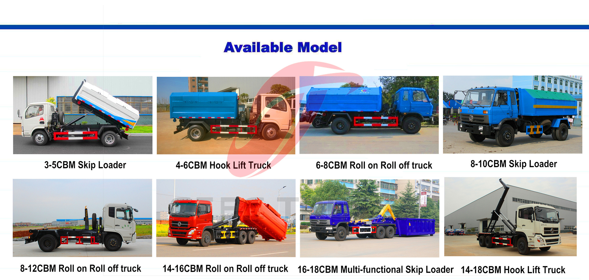 CEEC Roll on Roll off truck
