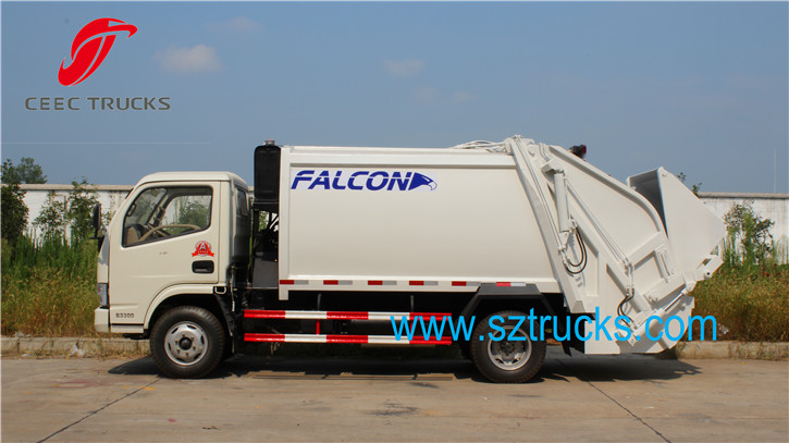 5CBM garbage compression truck