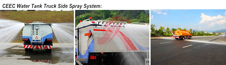 CEEC water tanker truck spray system