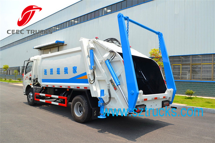 6CBM Multifunctional Garbage Compactor Truck