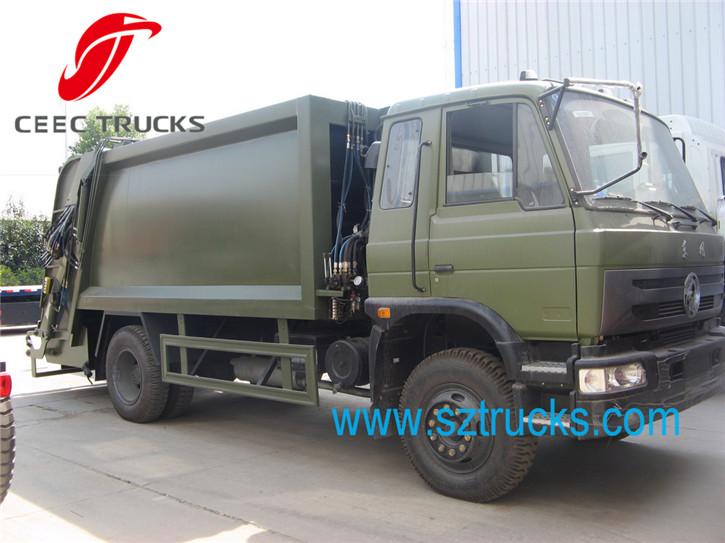 Best 10CBM compression garbage truck