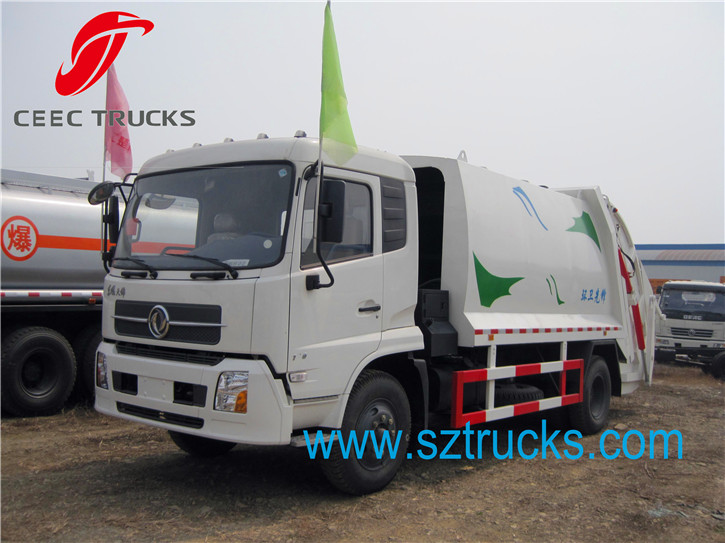 12CBM Rubbish Compression Truck