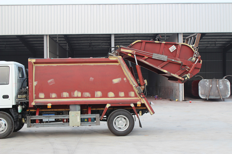 how to treat the sunk part in truck