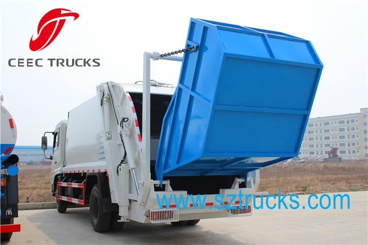 CEEC12CBM Garbage Compression Truck