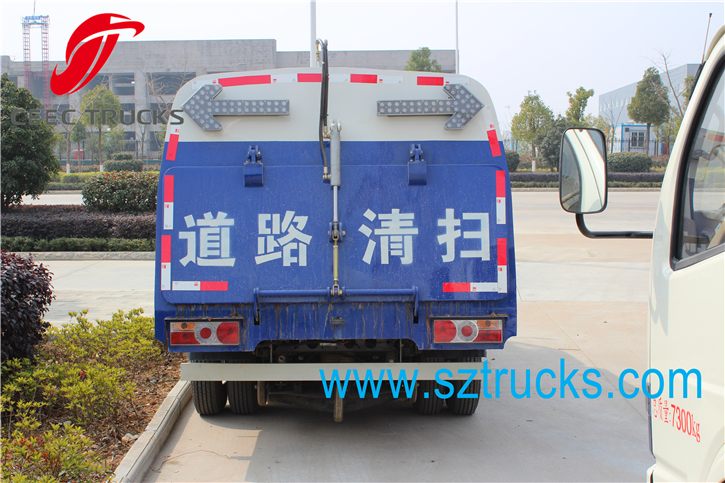 CEEC 4CBM Road Sweeper Truck
