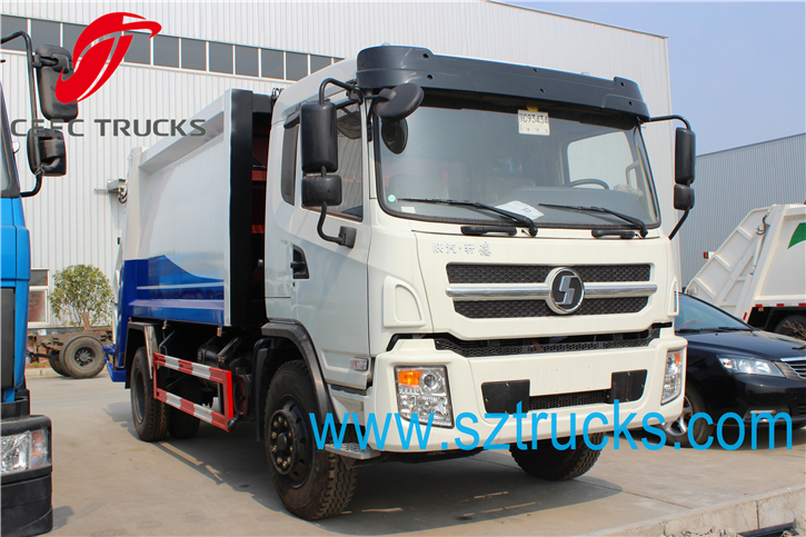 SHACMAN 10-14CBM Garbage Compression Truck
