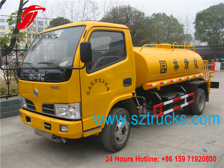 4cbm mini water tanker truck