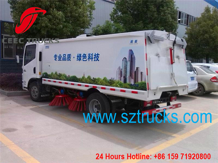 CEEC Road sweeper trucks hot sale