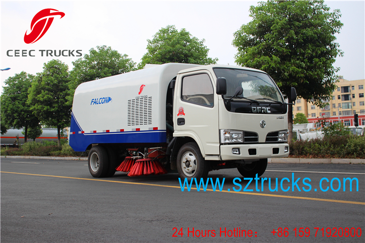 Best road sweeper truck for export to Vietnam