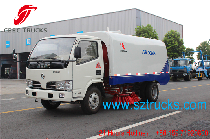 Best road sweeper truck for export to South Africa