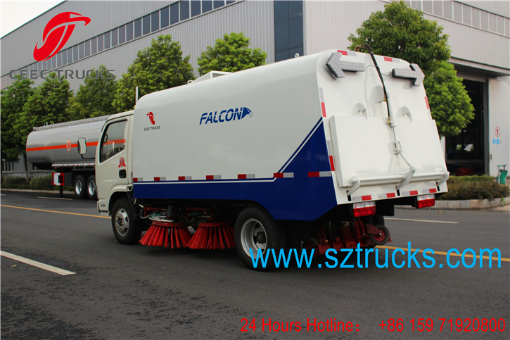Best road sweeper truck for export to Kenya