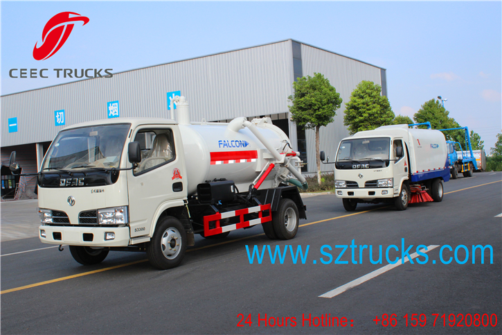 Best road sweeper truck for export to Togo