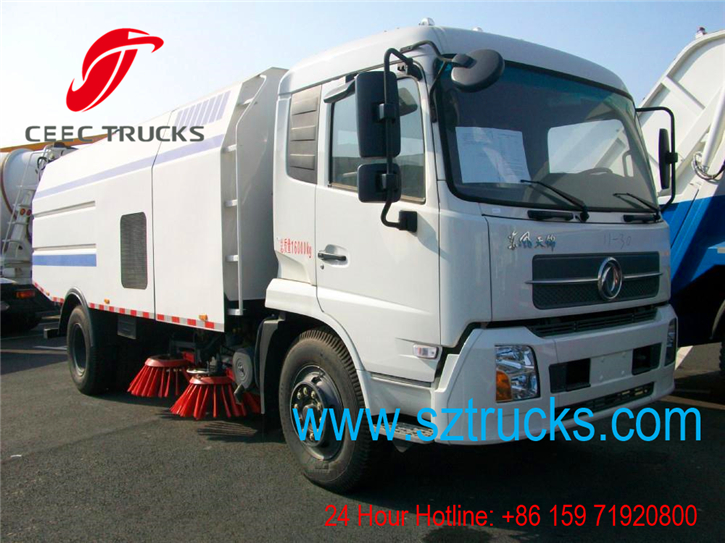Best road sweeper truck for export to Mozambique