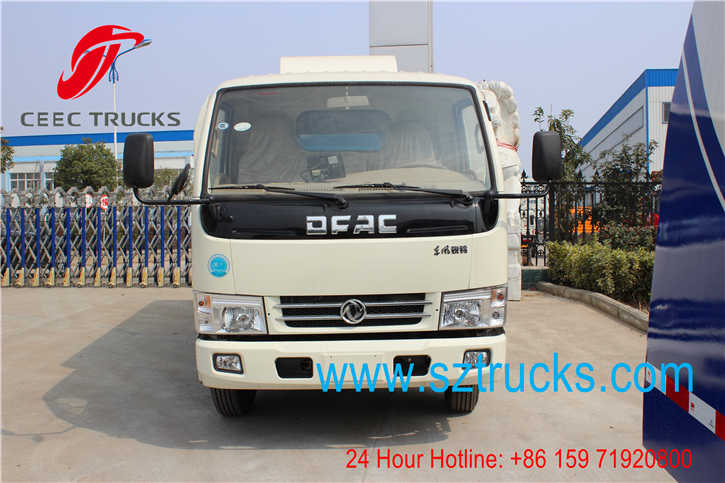 Best road sweeper truck for export