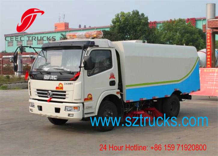 Best road sweeper truck for export Ecudor