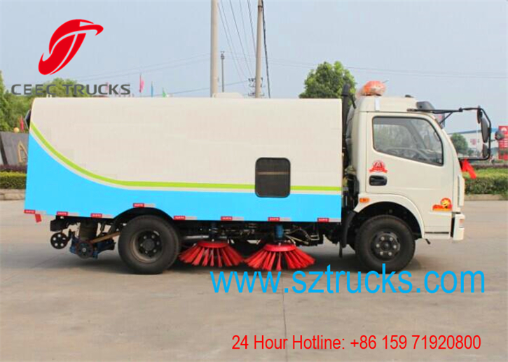 Best road sweeper truck for export to Angola