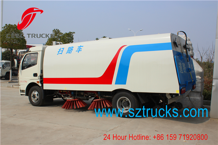 best road sweeper truck manufacturer