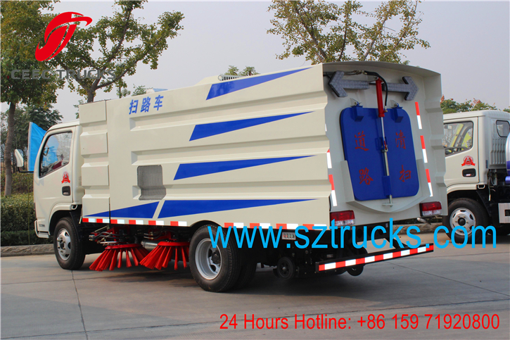 high quality DFAC road sweeper truck wholesale