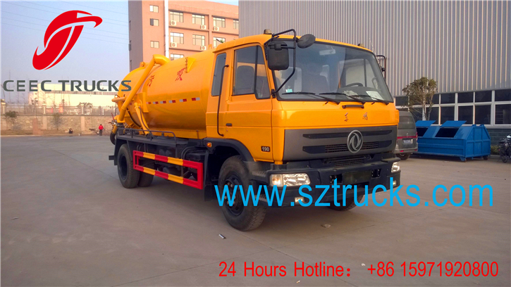 Best Sewage suction trucks hot sale with low price