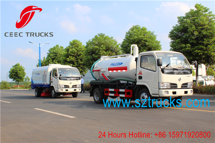 best mini sewage suction trucks for hot sale