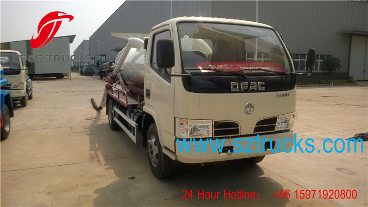 factory price vacuum suction trucks hot sale