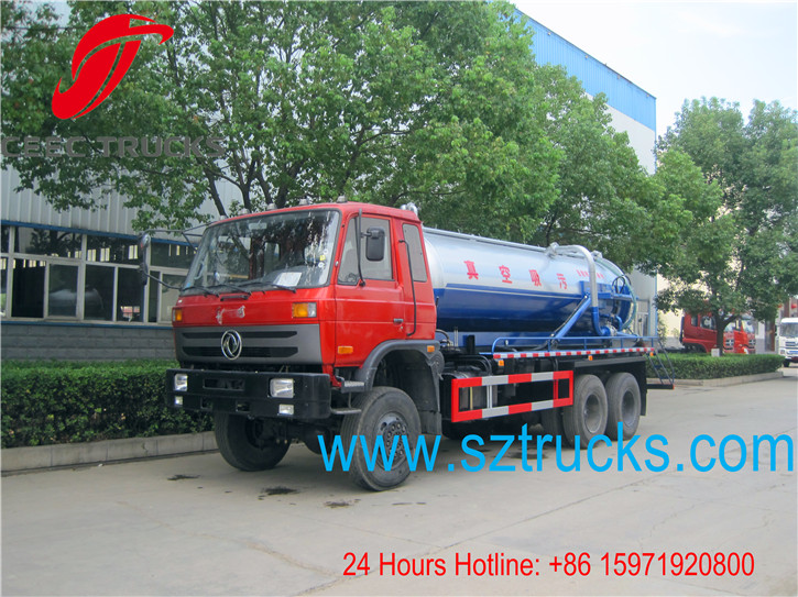 AWD vacuum suction truck