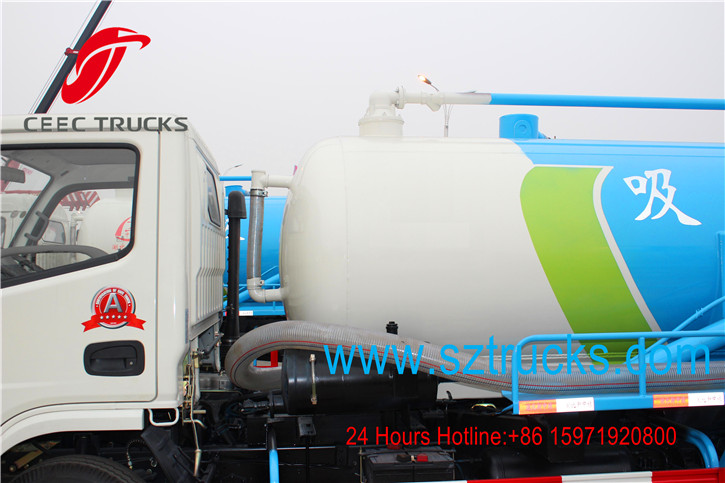 best cesspit emptier trucks with diesel engine
