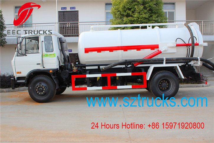 Cesspit Emptier Trucks hot sale cheap price
