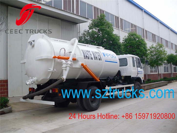 Best environmental sludge stone brick septic-tank sewer sewage Pump Truck for hot sale with good quality and best price
