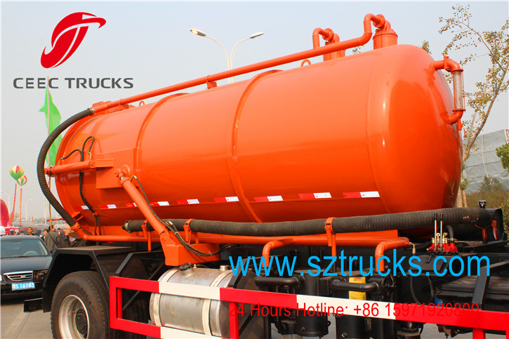 GOOD quality JAC brand septic pump truck
