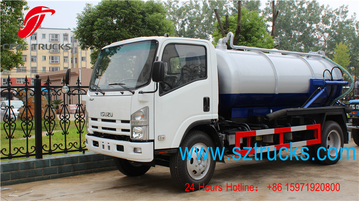 top quality vacuum suction truck