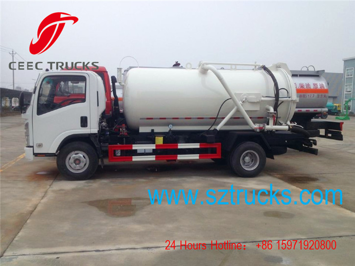 ISUZU vacuum suction truck supplier