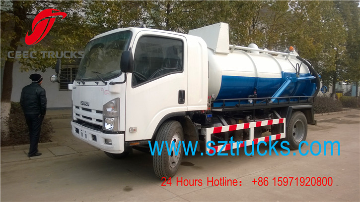 CEEC septic pump truck working vedio