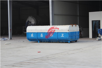 CEEC skip loader garbage container