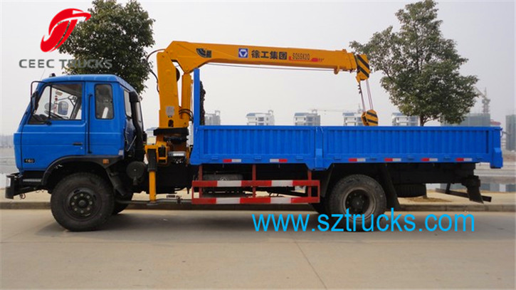 best truck mounted crane hot sale
