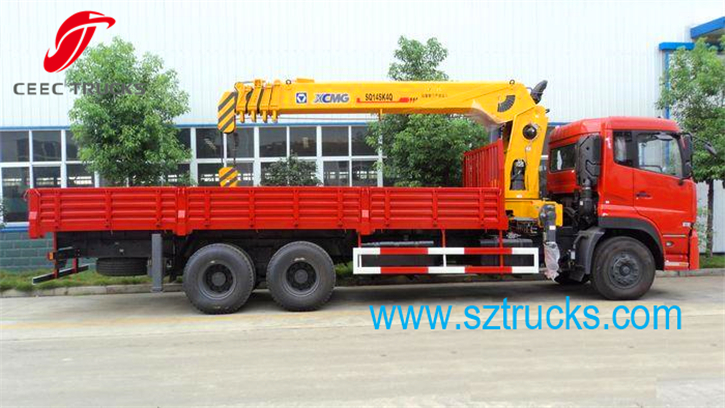 best 14000kg truck mounted crane for sale