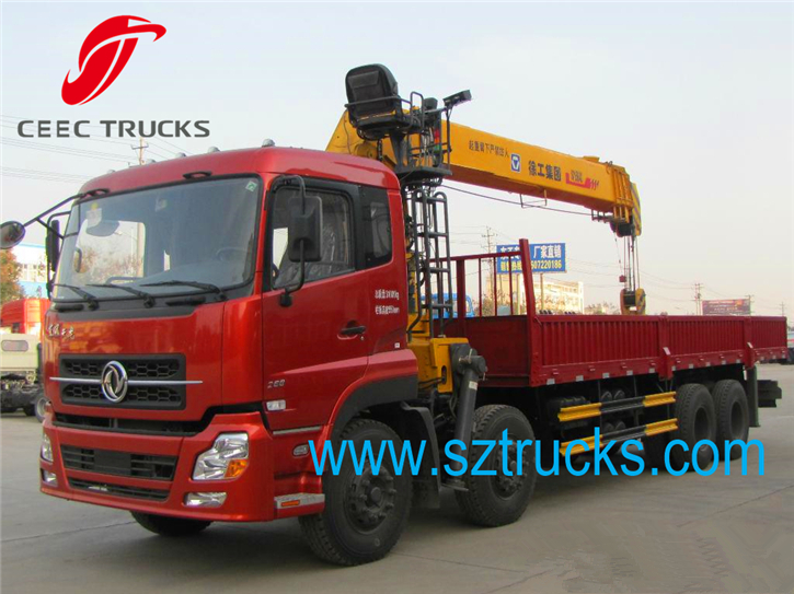 best 16000kg telescoping truck mounted crane