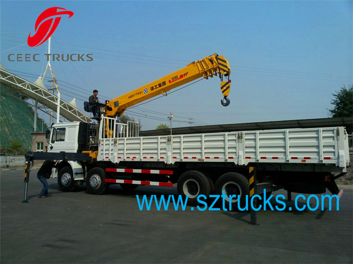 best 20ton truck mounted crane